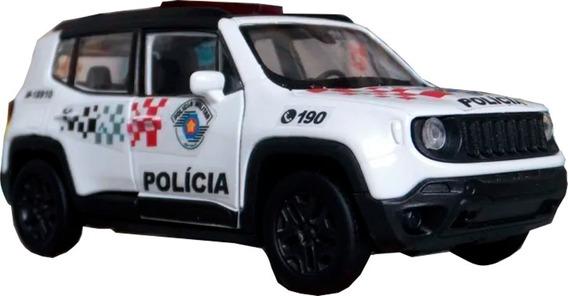 Miniatura Jeep Renegade Polícia Militar Sp - Atual 1/36