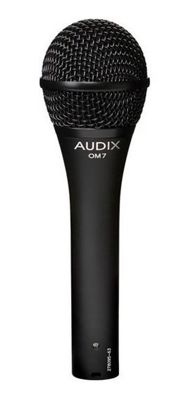Microfone Audix Om7 - Dinâmico Para Vocais - Hipercardióde