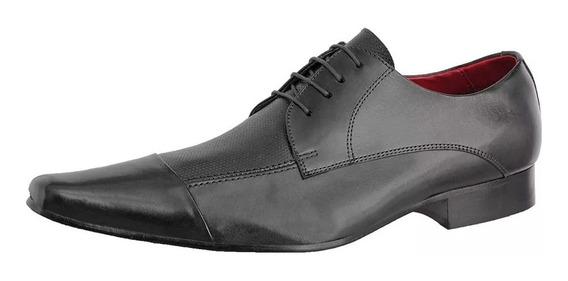 Sapato Masculino Modelo Italiano Bico Fino Alongado 606