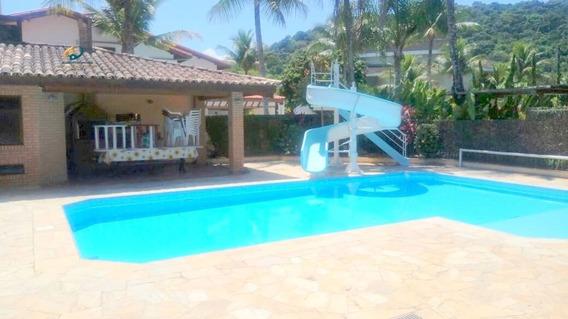 Casa Para Alugar No Bairro Acapulco Em Guarujá - Sp. - Enl102-3