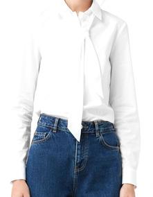 09ed0cc52eb Camisa Manga Larga Dama Blanca - Ropa