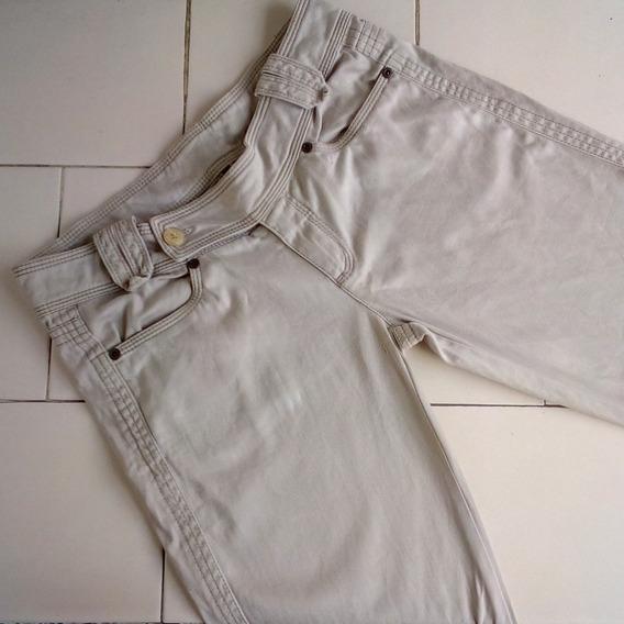 Pantalón Formal De Dama Beige Talla M
