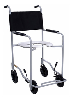 Cadeira De Banho Adulto Em Aço Fixo Progremax