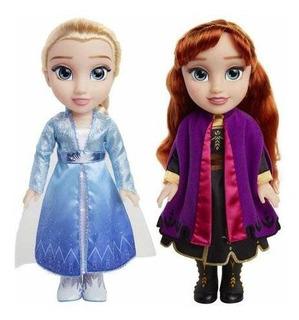 Set De Muñecas De Juguete Anna Y Elsa Disney Frozen 2