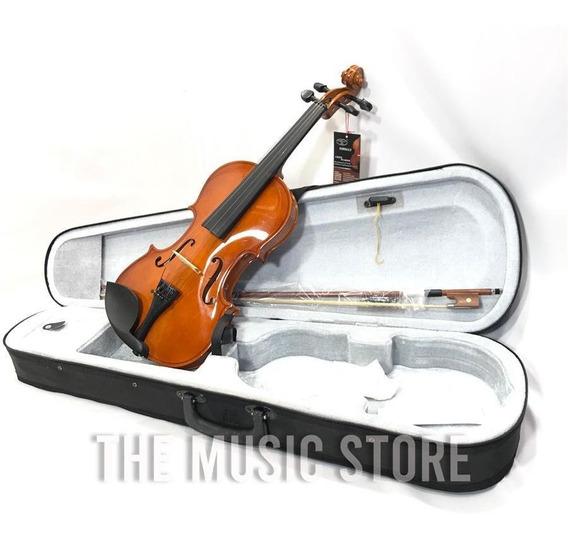 Violin Yirelly Cv 101 4/4 Brillante Con Estuche Arco Resina