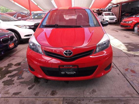 Precioso Toyota Yaris Hb Core 2014 Único Dueño