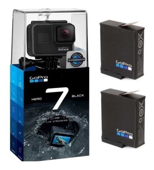Câmera Digital Gopro Hero 7 Black 4k + 2 Baterias Originais