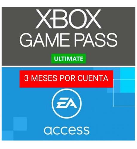 Xbox Gamepass Ultimate 3 Meses Entrega Inmediata