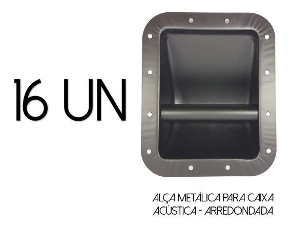 16-alças P/caixa Acústica-metal-line Array-arredondada