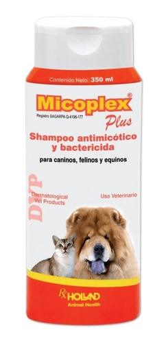 Shampo Micoplex Plus 350 Ml Holland