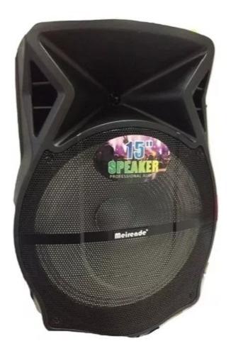 Corneta 15 Pulgadas Portatil Meirende C/ Microfono