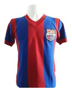 Camisa Artesanal Retrô Barcelona 1970