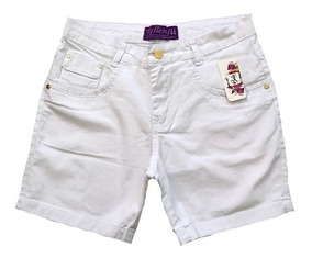 Short Jeans Plus Size Feminino Tamanhos Grandes