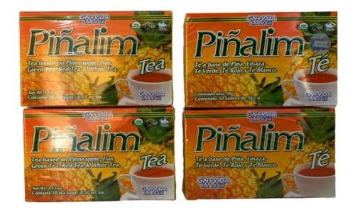 Piñalim Te Original Gn + Vida 120 Sobres (4 Cajas) Env Full