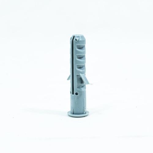 Imagen 1 de 10 de Tarugos De Nylon 8mm X Bolsa De 50 Unidades Con Tope