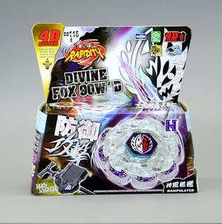 Beyblade Nuevo 4d Rapidity Divine Fox 90w 2 D