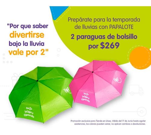 Promoción 2 Paraguas De Bolsillo $269