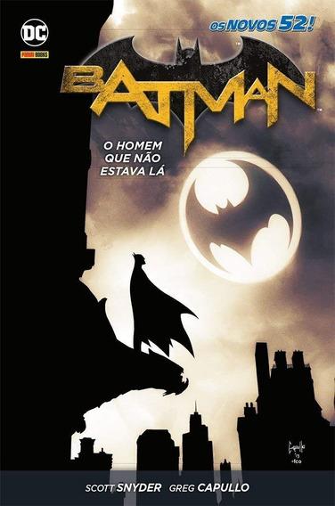 Hq Batman - O Homem Que Não Estava Lá