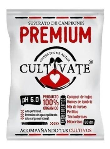 Sustrato Tierra Cultivate Premium 25 Dm3