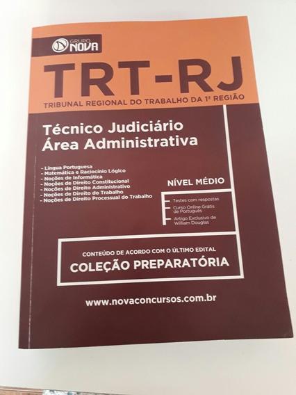 Concurso Trt-rj 2018