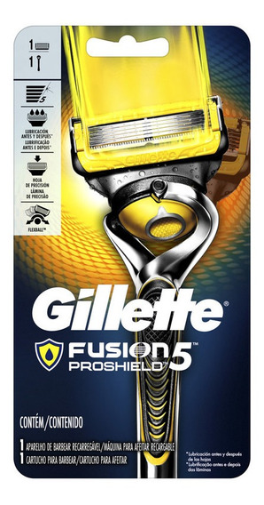 Gillette Fusion5 Proshield Máquina Afeitar Recargable 1 Ud