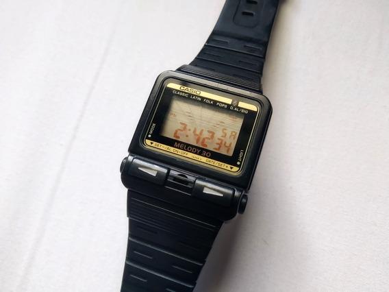 Relógio Casio Melody 30 Funcionando Perfeitamente