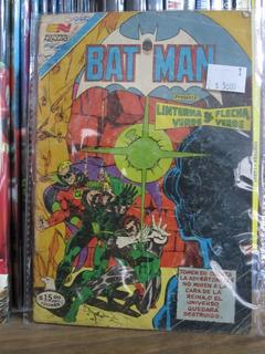 Comic Batman Editorial Novaro Edicion Colombiana