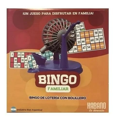 Bingo Familiar Con Bolillero 1003 Tombola Loteria Edu Full