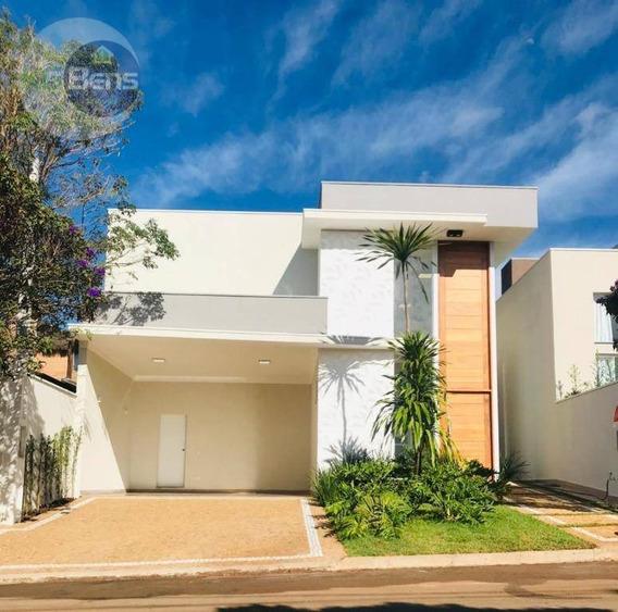 Casa Com 3 Suítes À Venda, 164 M² Por R$ 800.000 - Parque Residencial Roland Iii - Limeira/sp - Ca0409