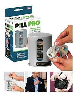 Porta Comprimidos Semanal 4 Divisorias Dia Pill Pro Capsulas