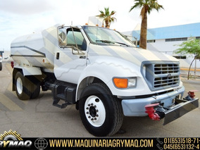 Camion Pipa De Agua 8,000lts Ford 2000
