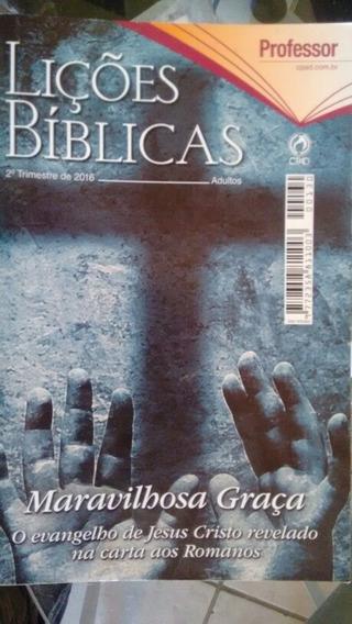 Lições Bíblicas Da Escola Dominical Revista Grande Do Mestr