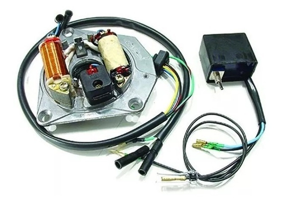 Kit Conversor Cdi C/ Bobina De Pulso Honda Cg 125 / Ml 1981