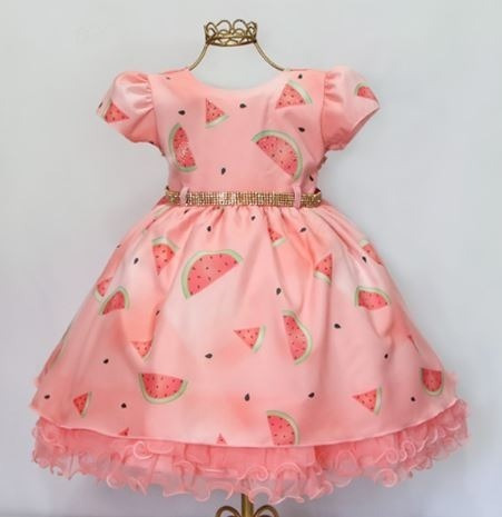 Vestido De Bebê Turma Da Mônica