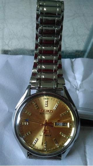 Relógio Seiko Automático Original Impecável 21 Jewels.