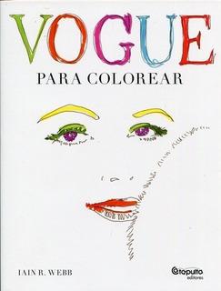 Vogue Para Colorear - Webb Iain