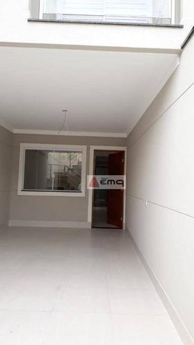 Sobrado Com 3 Dormitórios À Venda, 113 M² Por R$ 600.000,00 - Palmas Do Tremembé - São Paulo/sp - So0211