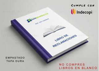 Libro Reclamaciones, Oficial - Evita La Multa De Indecopi!!!