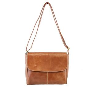 Bolsa Feminina Transversal Couro Legitimo Star Bag 2221