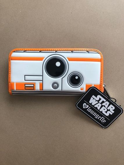 Billetera Star Wars Bb8 Disney Loungefly Importada Nueva