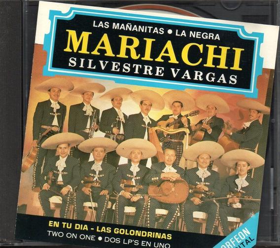 Mariachi Silvestre Vargas Éxitos Del...la Negra Cd 20 Tracks