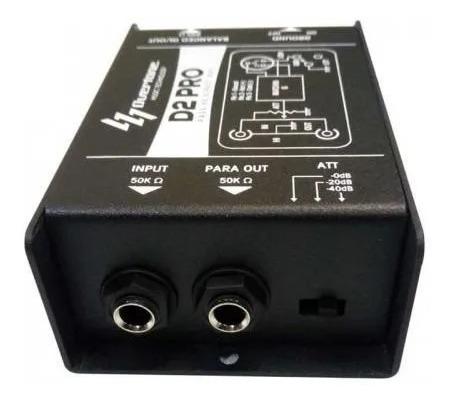 Direct Box Passivo Overtone D2 Pro