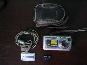 Camera Digital Sony Cyber Shot 6 Mega Pixel -pequeno Defeito