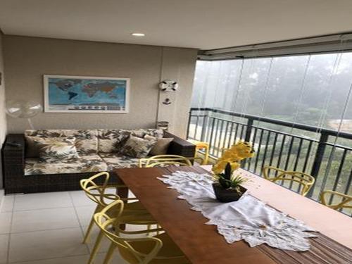 Imagem 1 de 13 de Apartamento 80m² 3 Dormitórios 2 Vagas Lado Shop Maia 545mil