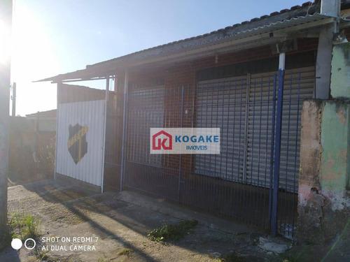 Salão À Venda, 70 M² Por R$ 426.000,00 - Jardim Colônia - Jacareí/sp - Sl0532
