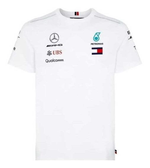 Playera Mercedes Amg Petronas Blanca F1 / *kids* Original