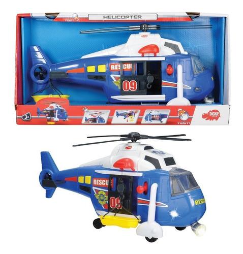 Dickie Toys Helicóptero Con Luz, Sonido Y Movimiento