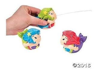 Mermaid Squirt Toys - 12 Piezas De Party Supplies