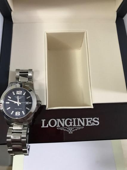 Relógio Longines Novo, Com Caixa E Certificado.