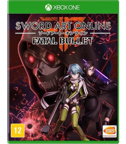 Sword Art Online Fatal Bullet Xbox One (novo) Mídia Física